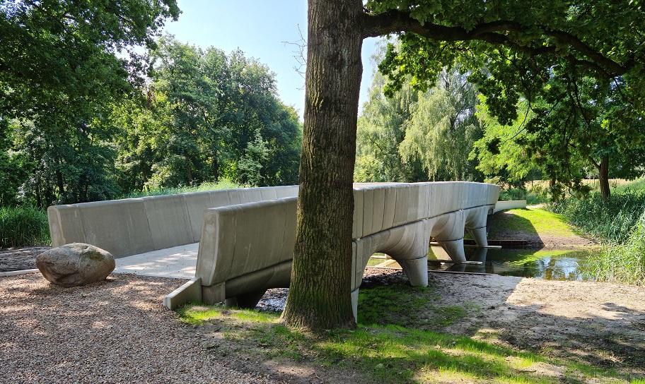 3D geprinte brug Nijmegen   Saint-Gobain Weber Beamix